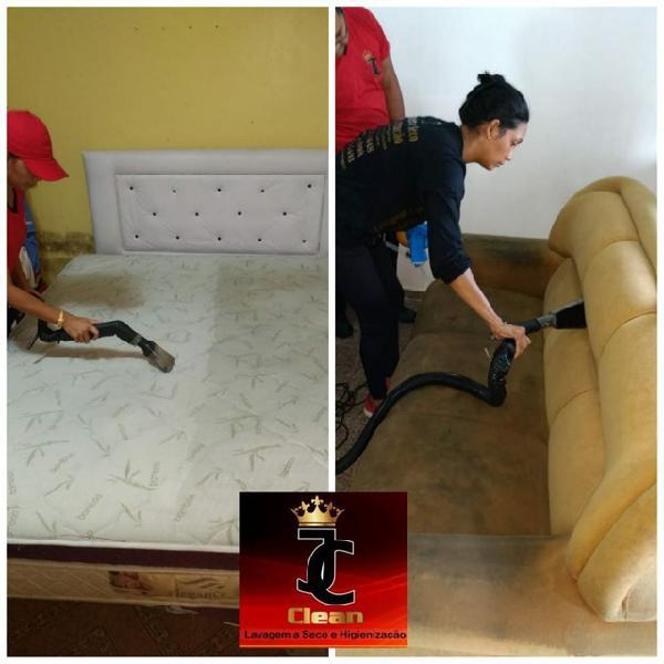 Lavagem a seco e higienização profissional