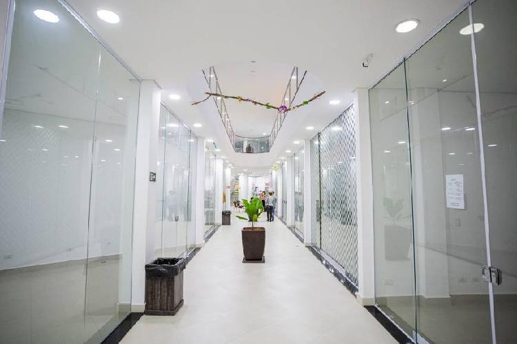 Salas comerciais no shopping villa rodrigues com 42 m2.
