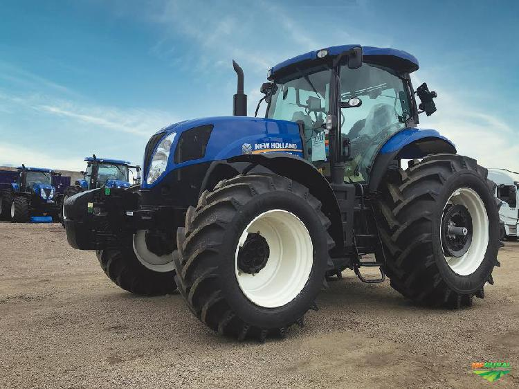 Trator new holland t7.205 4x4 ano 20