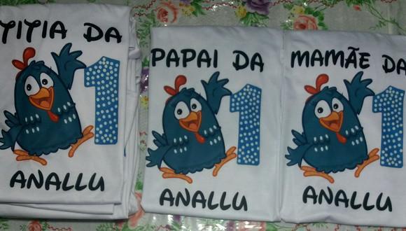 Camiseta galinha pitadinha