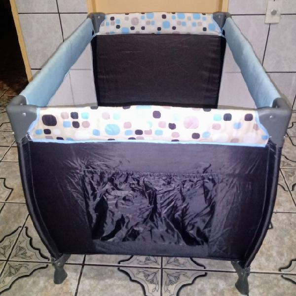 Berço desmontável cosco/cadeira de refeição portátil