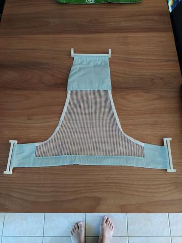 Suporte rede proteção para banheira bebê