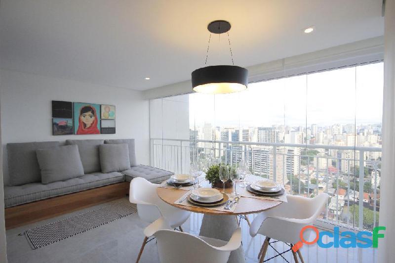 Locação de Luxuoso Apartamento Totalmente Mobiliado,Com 57 m² No Horizonte JK 6