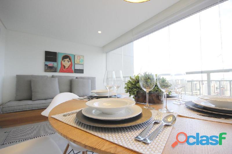 Locação de Luxuoso Apartamento Totalmente Mobiliado,Com 57 m² No Horizonte JK 8