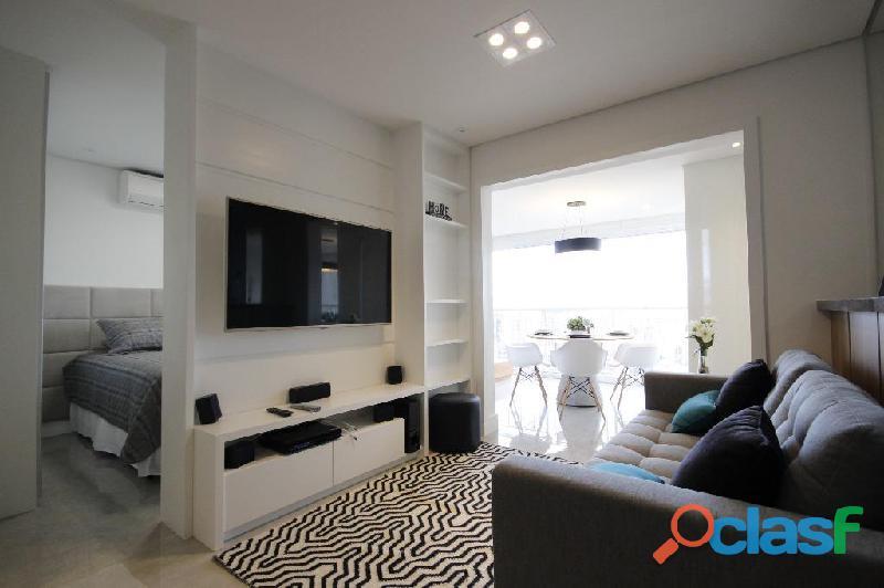 Locação de Luxuoso Apartamento Totalmente Mobiliado,Com 57 m² No Horizonte JK 9