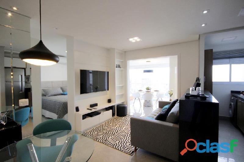 Locação de Luxuoso Apartamento Totalmente Mobiliado,Com 57 m² No Horizonte JK 10