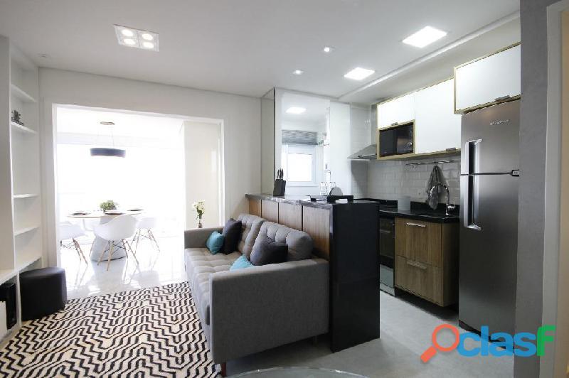 Locação de Luxuoso Apartamento Totalmente Mobiliado,Com 57 m² No Horizonte JK 11