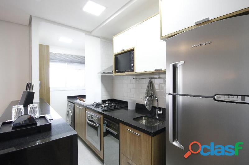 Locação de Luxuoso Apartamento Totalmente Mobiliado,Com 57 m² No Horizonte JK 12