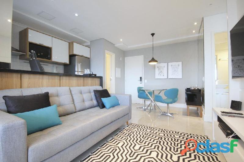 Locação de Luxuoso Apartamento Totalmente Mobiliado,Com 57 m² No Horizonte JK 14