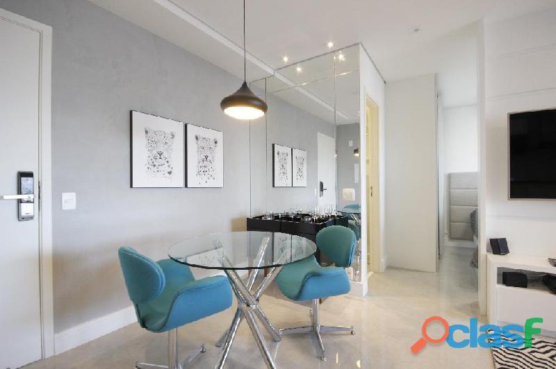 Locação de Luxuoso Apartamento Totalmente Mobiliado,Com 57 m² No Horizonte JK 13