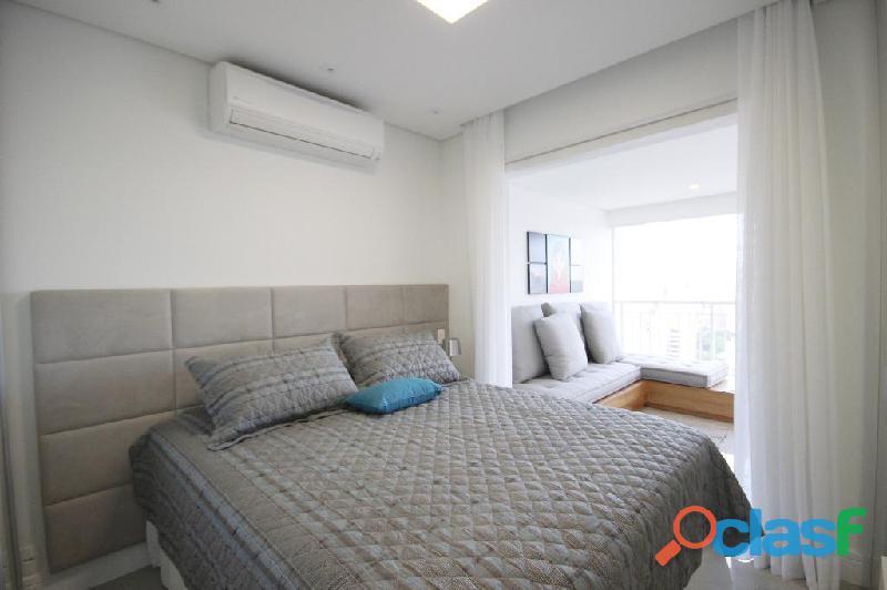 Locação de Luxuoso Apartamento Totalmente Mobiliado,Com 57 m² No Horizonte JK 3