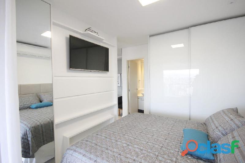 Locação de Luxuoso Apartamento Totalmente Mobiliado,Com 57 m² No Horizonte JK 2