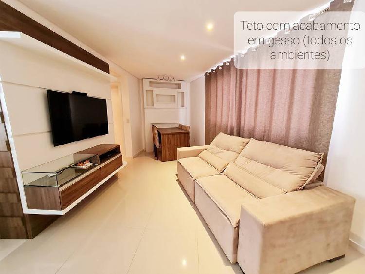 Apartamento totalmente mobiliado com 53m² no coração da