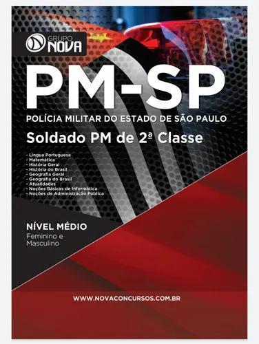 Apostila digital pdf - concurso da pm sp * envio imediato