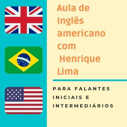 Aula online de inglês americano, com henrique lima