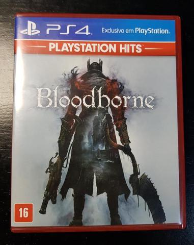 Bloodborne (ps4) - mídia física