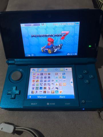 Nintendo 3ds desbloqueado - vários jogos na memória