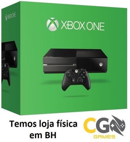 Xbox one 500gb na caixa semi novo com garantia - cartão