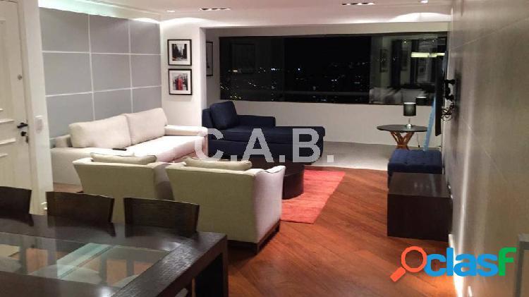Apartamento mobiliado para locação alpha club alphaville