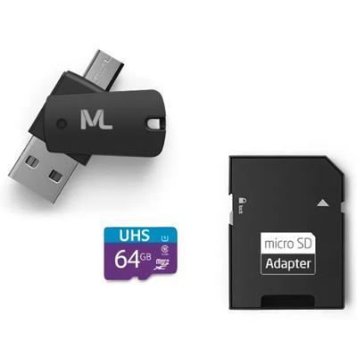 Cartão memória sd uhs pendrive otg 64gb 10/80mbps