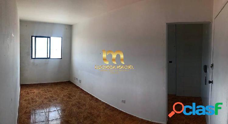 Locação - apartamento de 01 dormitório, 01 vaga, próximo a praia - ocian