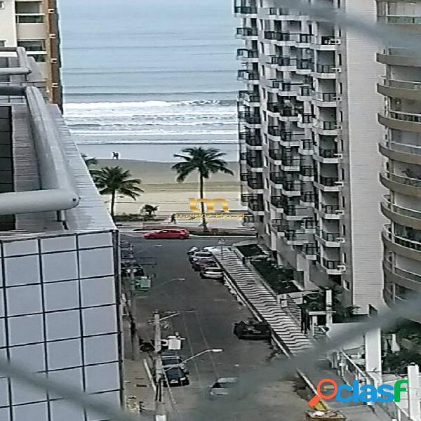 Vista mar - apartamento 03 dorms, 03 suítes, 2 vagas privativas- forte