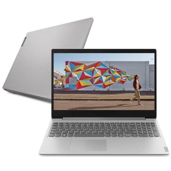 "Notebook lenovo 15.6"" ultrafino ideapad 12gb 1tb linux s145"