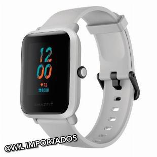 Relógio smartwatch xiaomi amazfit bip (white cloud)