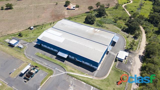 Galpão logístico industrial para locação,com 5288 m² na cidade de jaguariúna