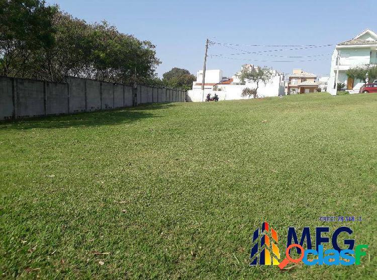 Excelente terreno condomínio jardim portugal