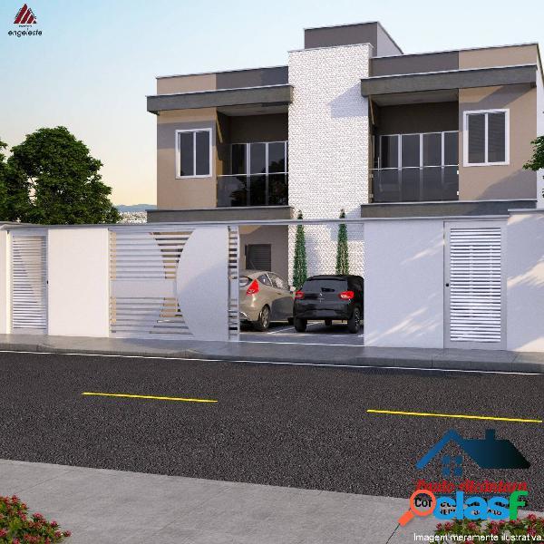 Casa geminada 3 quartos belvedere - cel fabriciano - cod 222