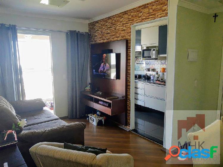 Apartamento 3 dormitórios, 1 vaga - vila eudízia - santo andré