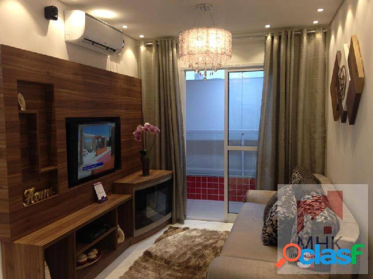 Apartamento 2dorm, 1suíte - 55,68m² - vila curuçá