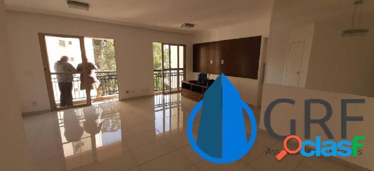 Jardim marajoara - apartamento 3 dorms 1suíte 2vagas 102m² área útil