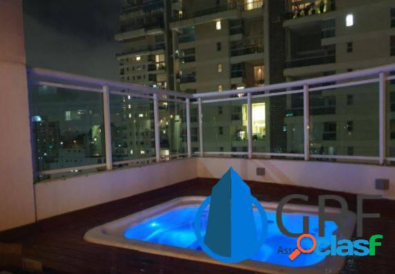 Apartamento duplex campo belo 3 dorms 3 suítes 2 vagas 176 m² área útil
