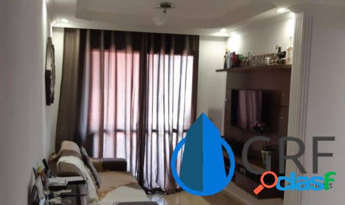 Apartamento Campo Grande 3 dorms 1 suíte 1 vaga 71m² área útil 1