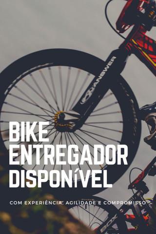 Bike entregador disponível em paulista