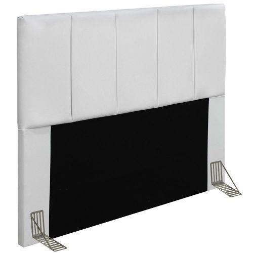 Cabeceira cama box casal 140cm p/u00e9rola d10 corano branco