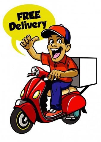 Henrique motoboy entregador.