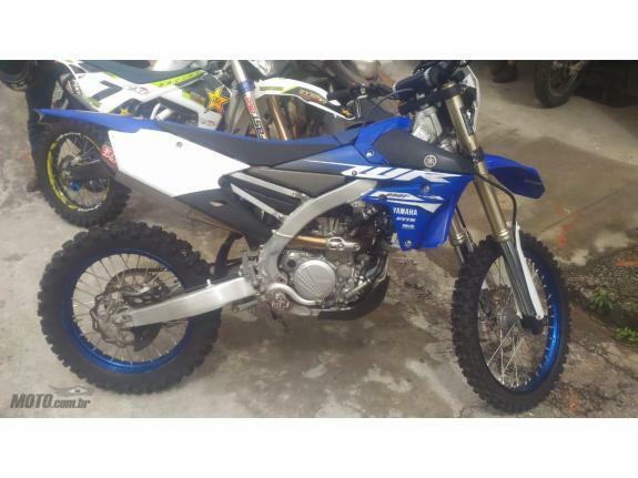 Yamaha - wr 250 f