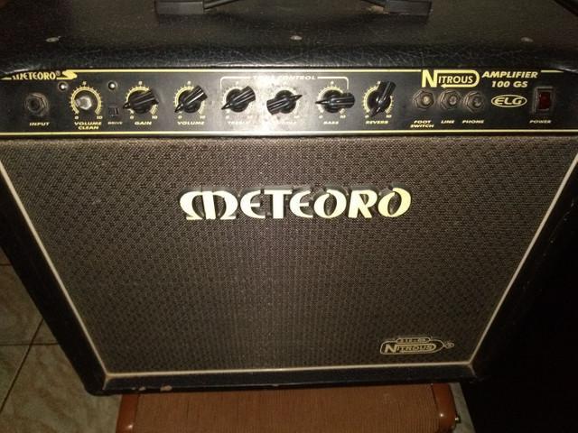 Amplificador meteoro nitrous 100 gs