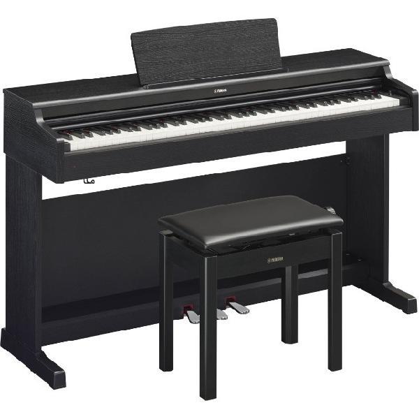 Piano digital yamaha ydp 164b black arius 88 teclas -