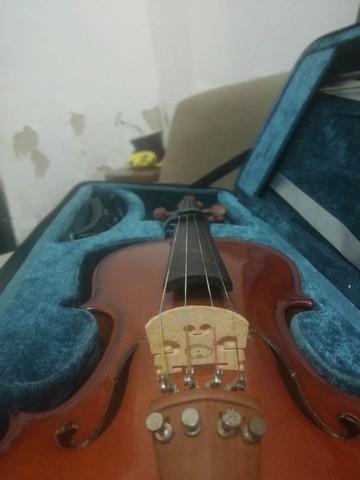 Violino + case + ferramentas