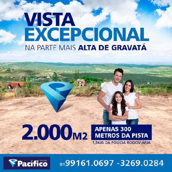 Oportunidade! terreno maravilhoso para venda com 2000 m2 em