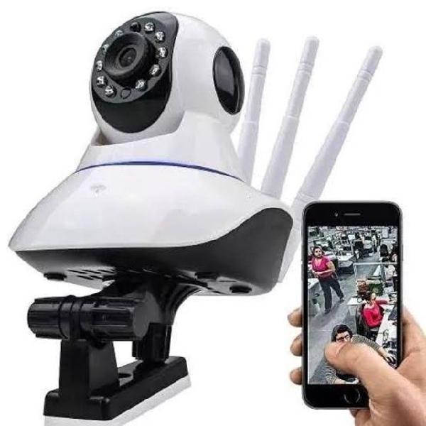 Camera ip segurança visão noturna longo alcance