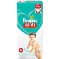 Fralda pampers pants ajuste total g