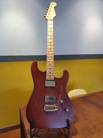 Guitarra music maker stk satin c/ case tipo gator