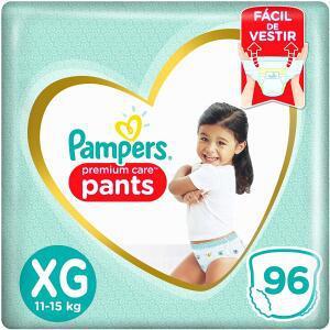 Parcelado] [recorrente] fralda pampers pants premium care
