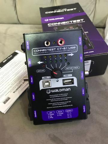 Testador de cabos - waldman connecttest - ct8.1 - arizy