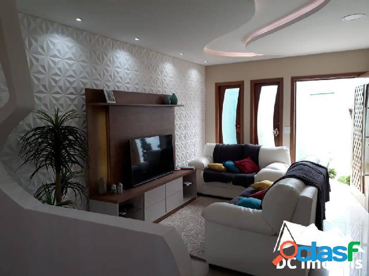 Casa alto padrão, 4 dormitórios, 220m² - martim de sá - caraguatatuba/sp